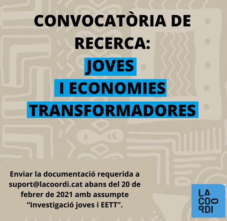 Recerca economies transformadores