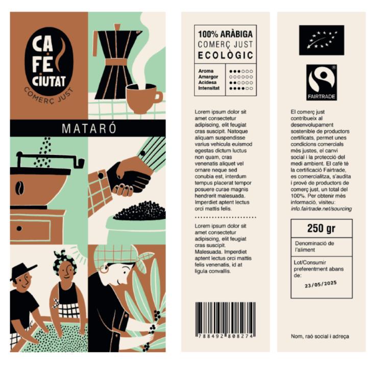 Nou paquet cafè ciutat